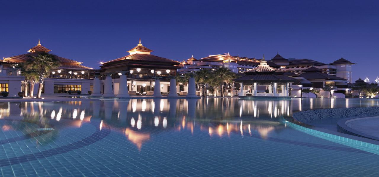 迪拜棕榈岛安纳塔拉水疗度假村