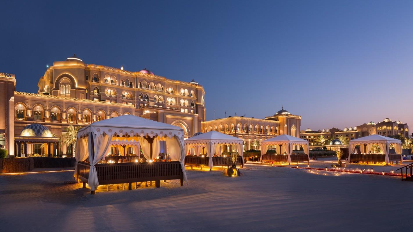 阿布扎比酋长国宫殿饭店